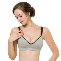 Mujeres embarazadas Ropa interior Sujetadores algodón Maternidad enfermería sujetador femenino push up Lactancia sujetador