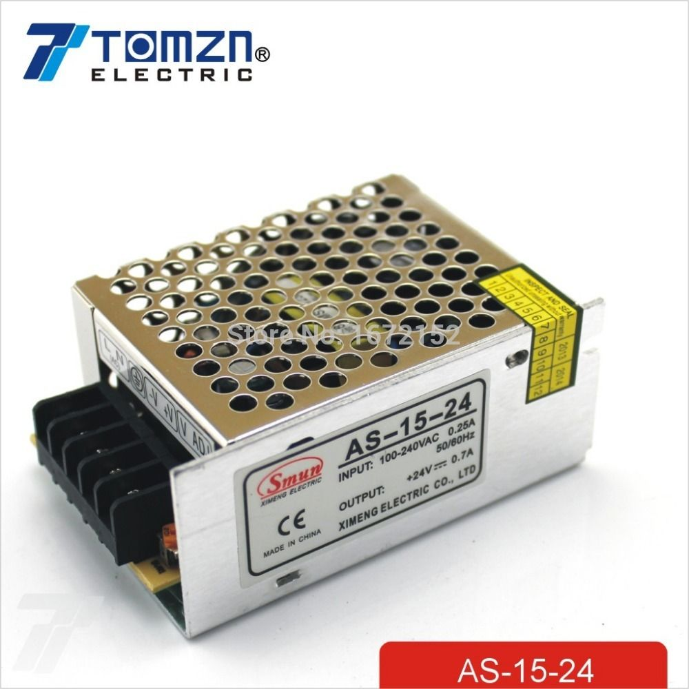 15W 24V 0.7A Small Volume Single Output Switching power supply for LED Strip light