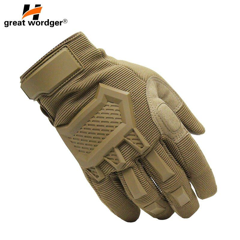 Touch Screen Tactical Gloves Men Army Sports Military Special Forces Full Finger Gloves Antiskid Motocycle Bicycle Gym Gloves