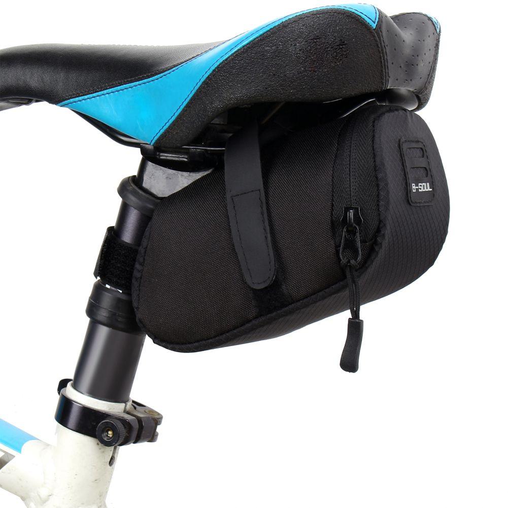 6 Color Nylon Bicycle Bag Bike Waterproof Storage Saddle Bag Seat Cycling Tail Rear Pouch Bag Saddle Bolsa Bicicleta accessories