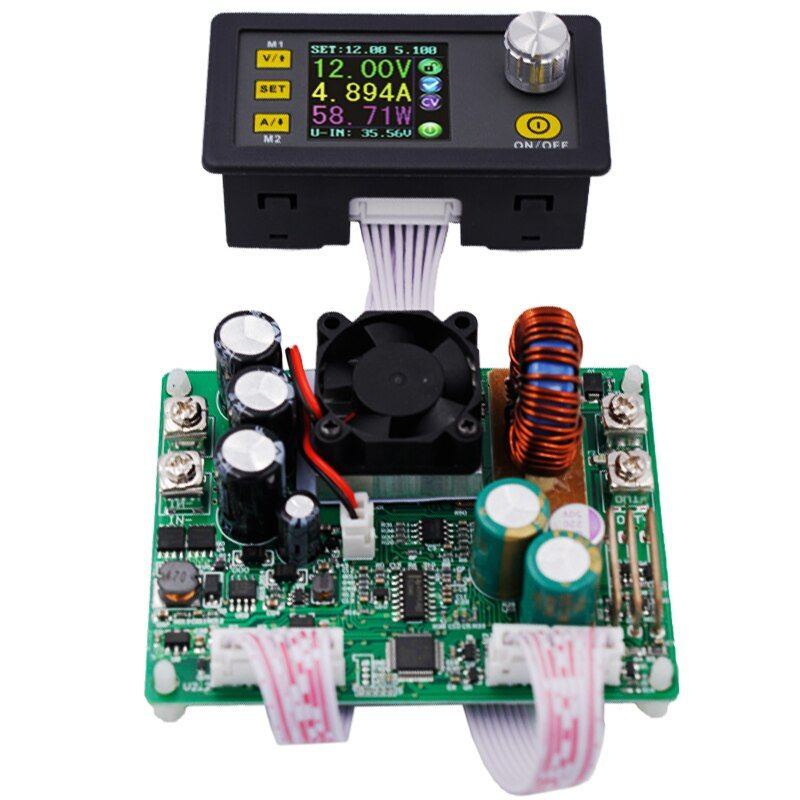 DPS5015 LCD Voltmeter 50V 15A Current Voltage tester Step-down Programmable Power <font><b>Supply</b></font> module Regulator Converter 41% off
