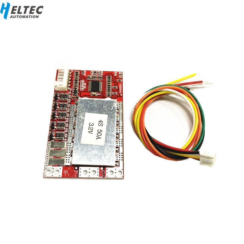 4 S 50A BMS Board 3,2 V eisen phosphat/LiFePO4 batterie BMS board mit Balance