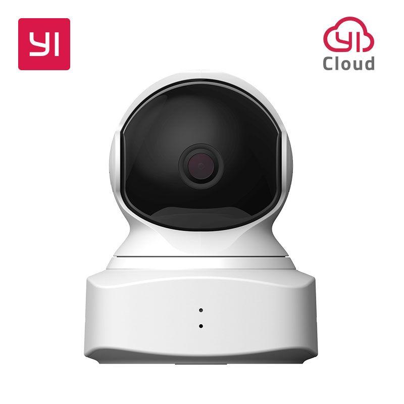 YI Maison de Nuage Caméra 1080 p HD Sans Fil IP Caméra de Sécurité Pan/Tilt/Zoom Système de Surveillance Intérieure Nuit vision Détection de Mouvement