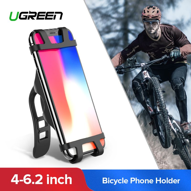 Ugreen Fahrrad Telefon Halter für iPhone X S 8 Handy Halter Bike Lenker Telefon Halter Für Samsung Fahrrad Telefon halterung Ständer