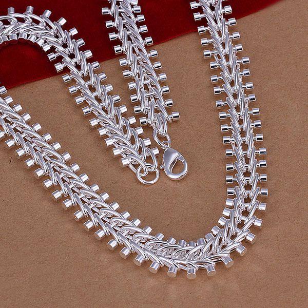 Männer 12mm 925 sterling silber halskette 18 ''45 cm 72g solid snake kette SILBER ÜBERZOGENE BIJOUX n166 geschenk beutel