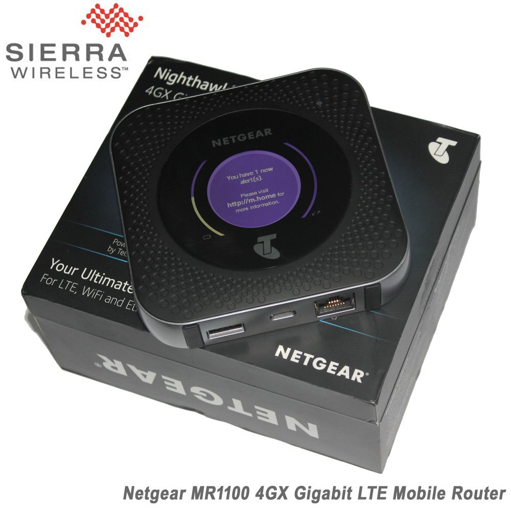 Netgear MR1100 1GB Cate 16 4GX Gigabit 4G LTE Mobile Sim Card Router For LTE,WiFi And Ethernet Connection