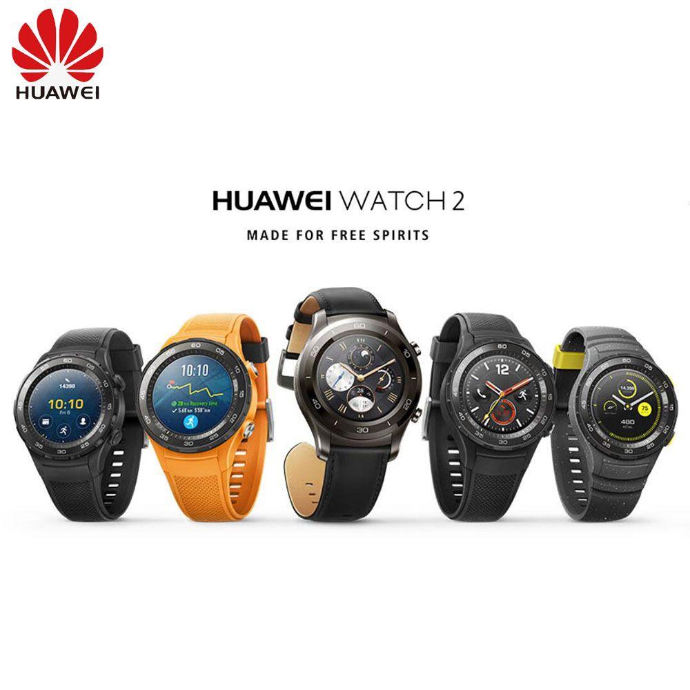 Original Huawei Uhr 2 Unterstützung LTE 4G Sport Smartwatch Anruf Herz Rate Tracker Für Android iOS