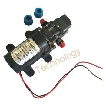 Livraison gratuite Mini électrique pompe à membrane DC12V pompe auto-amorçante 2 M 60 W 5L / min, 0.8mpa lavage de voiture