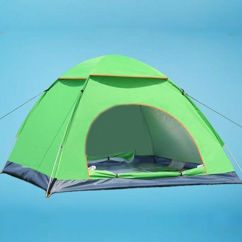 Haltbarer 2-3 Person Wasserdichte Outdoor Faltbar Zelt Camping Wandern Reise Zelt Hochwertigen Zelt Für Outdoor-sportarten