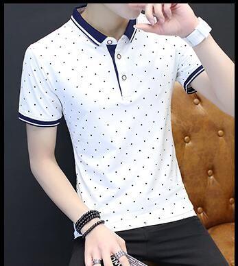 2018 Summer New Fashion Tshirt Men Solid Color Slim Fit Short Sleeve T Shirt Men Mandarin Collar Casual T-Shirts