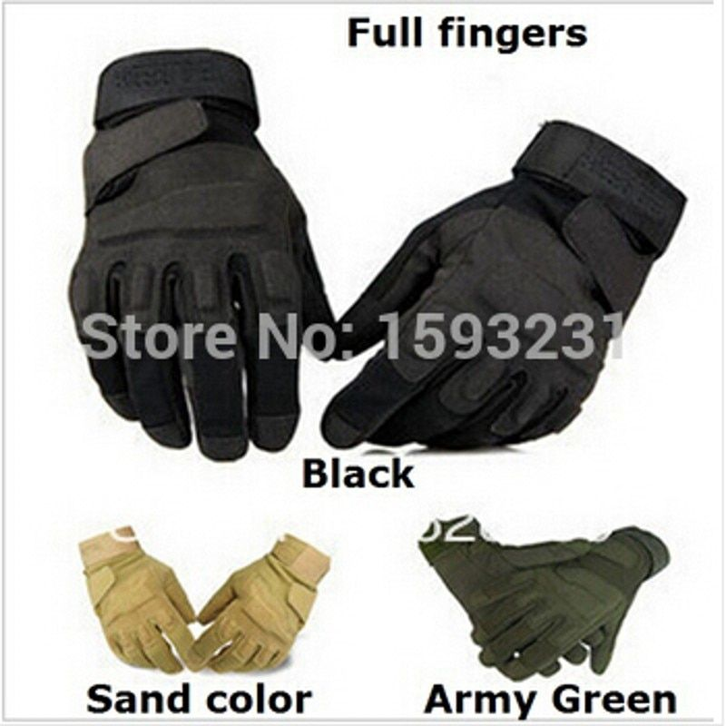2017 new Smoves Mens Military Tactical Gloves Full Finger M-XL Airsoft Foam Knuckle Protection GL01 Free shipping