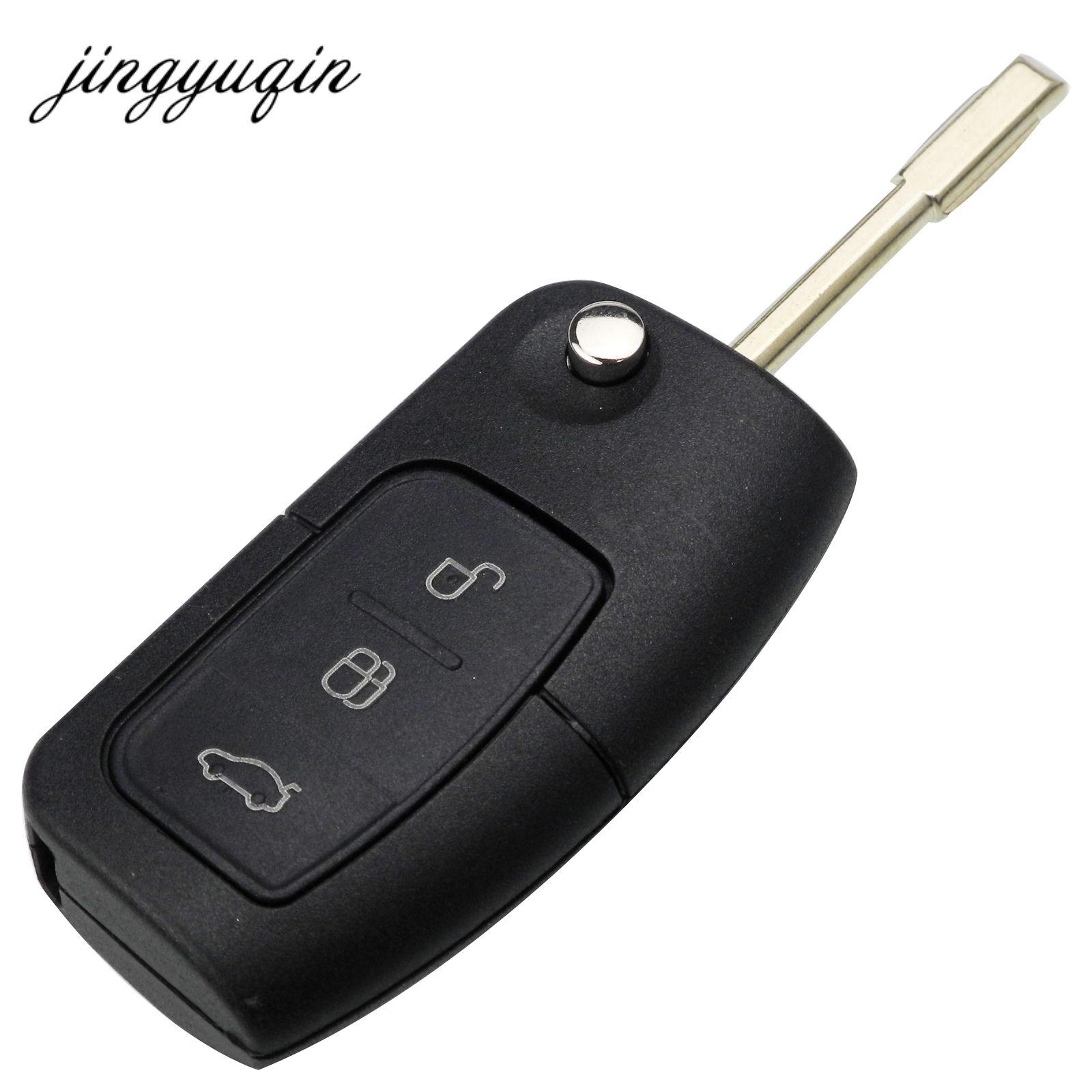 Jinyuqin FO21 3 Tasten Flip Folding Remote Key Shell Fob Für Ford Focus Mondeo Schlüssel Fob Fall