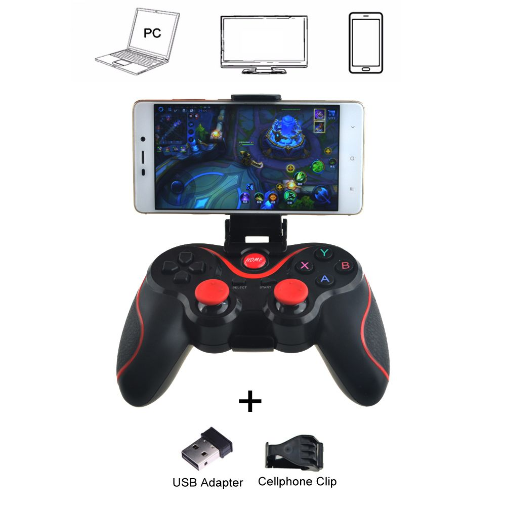 T3 Wireless <font><b>Joystick</b></font> Bluetooth 3.0 Gamepad Gaming Controller Gaming Remote Control for Tablet PC Android Smart phone