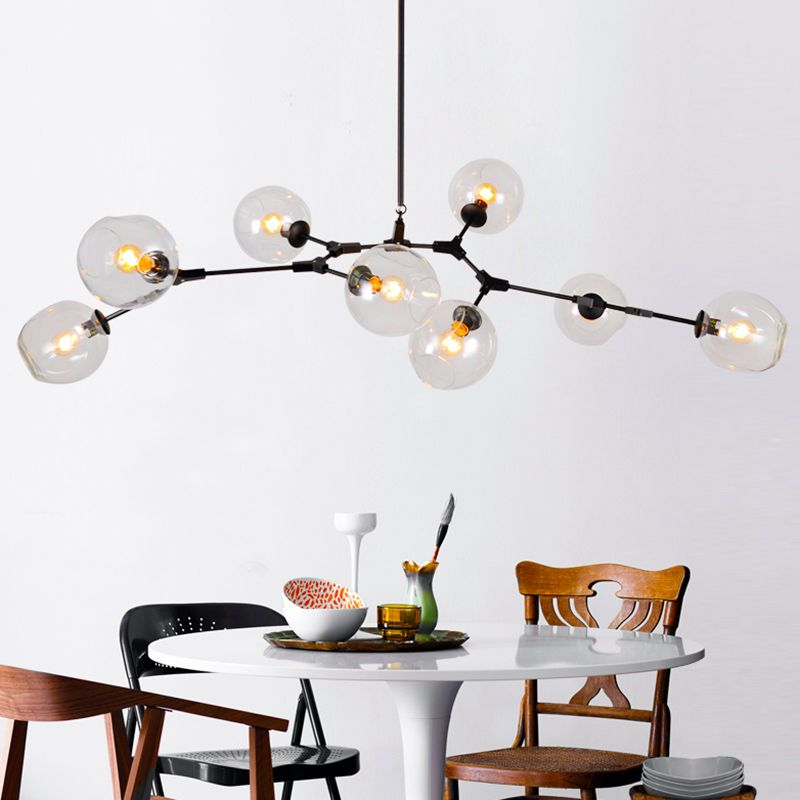 Living Dinning Room Bedroom Pendant lustre Chandelier Light Fixtures Modern Nordic Loft Hanging Chandelier Lamp Luminaria Avize
