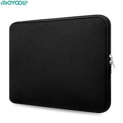 Soft Laptop Bag for MacBook Air Pro Retina 11 13 15 15.6 Inch Laptop Sleeve Case Women Men Protective Cover for Tablet Notebook