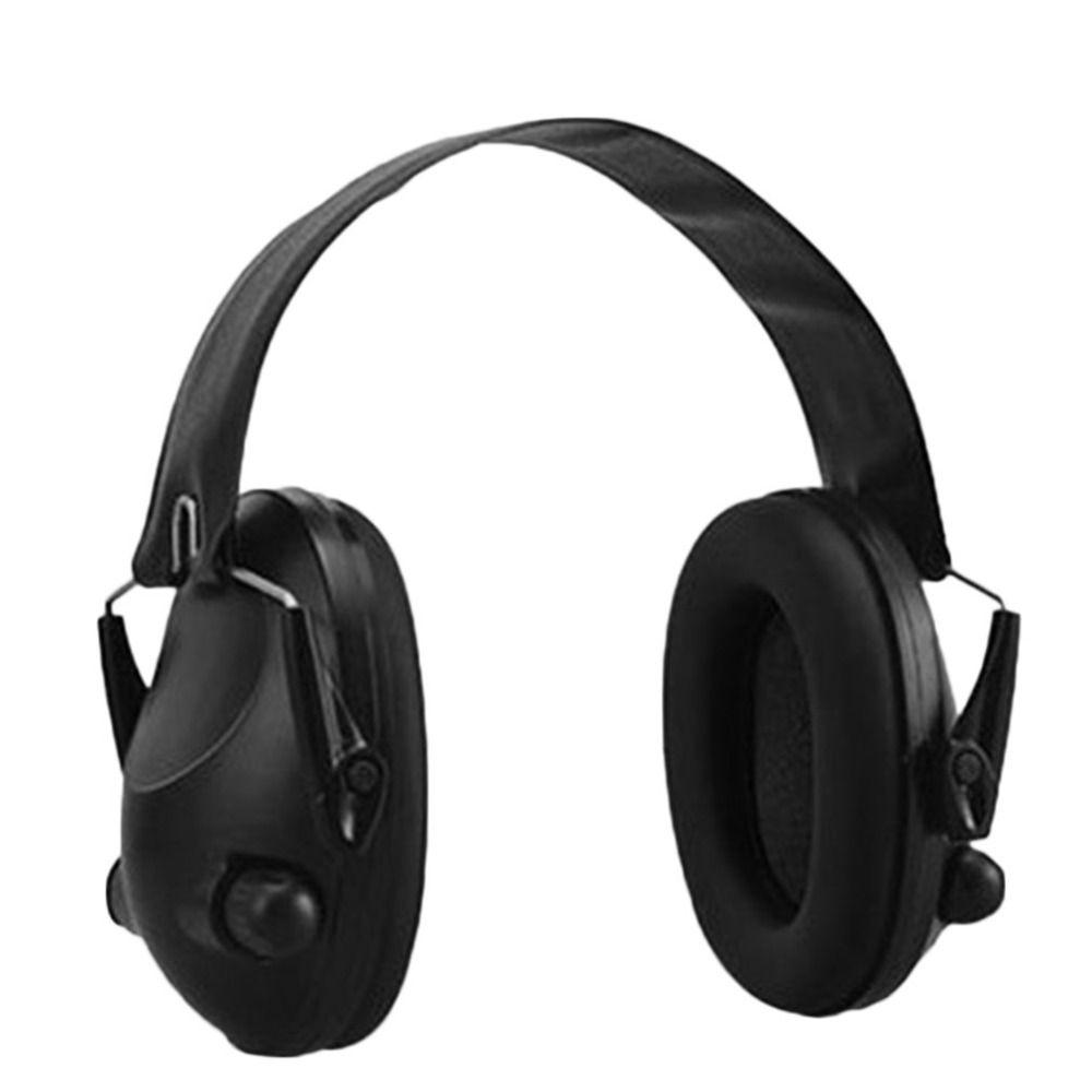 TAC 6s Noise Canceling Tactical Shooting Headset Anti-Noise Sport Hunting Electronic Shooting Earmuff Headphone