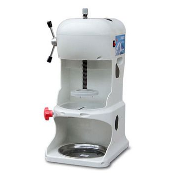 JIQI 220V Commercial Ice Crushers & Shavers Ice maker electric Snowflake crusher fancy ice making machine