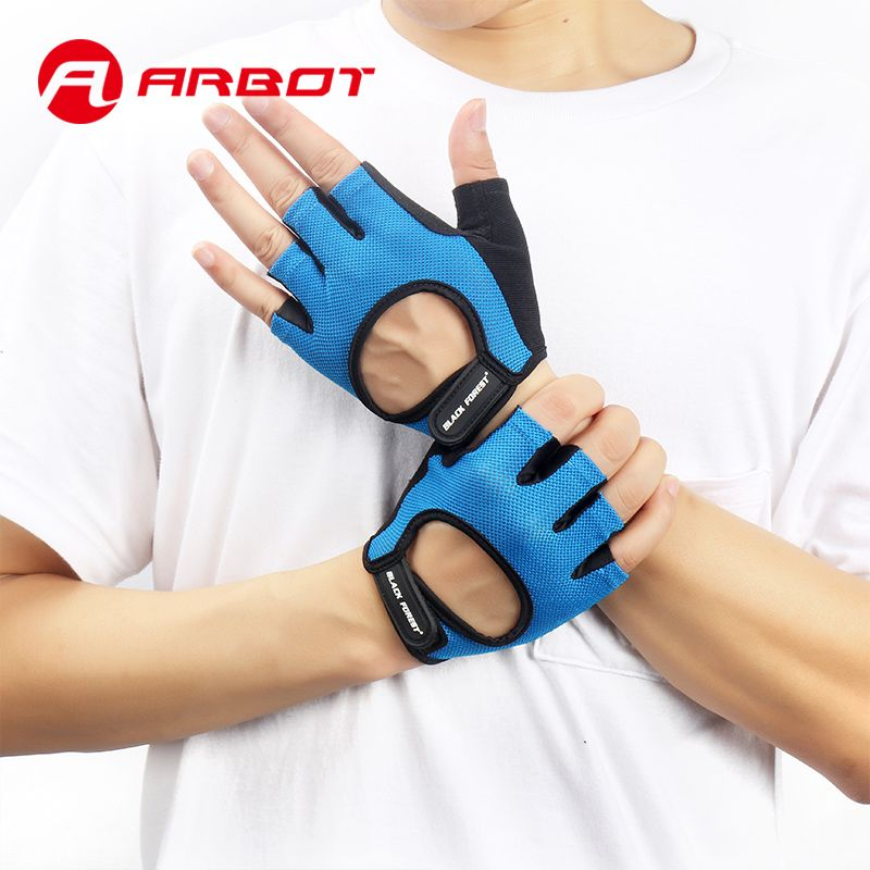 New Fitness Weight Lifting Gym Glove Men Women Breathable Exercise Luvas Gloves Half Finger Training Wrist Mittens for Sports