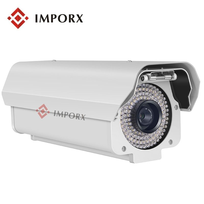 5.0 Megpixels Lens 2.0MP 1080P License Plate Capture Recognition Camera Outdoor ANPR LPR IP Camera with 12mm lens for Highway