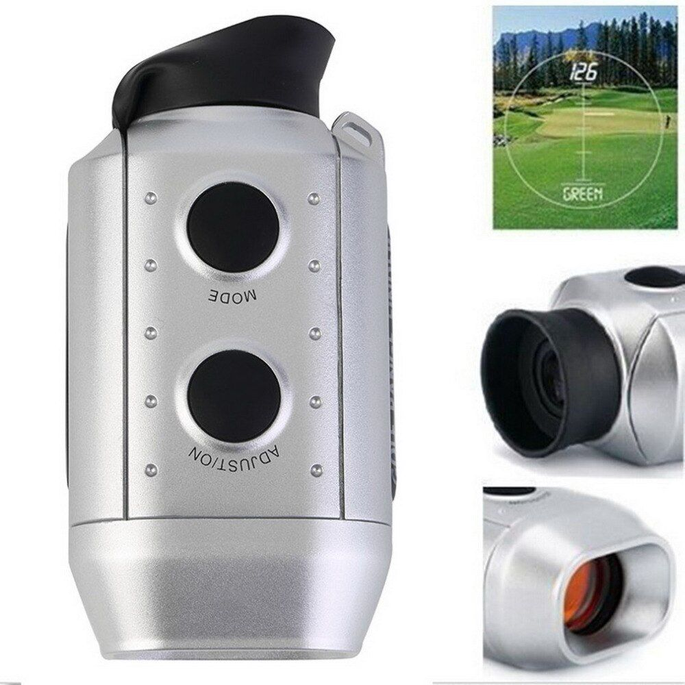 1 Satz Digitale 7x ENTFERNUNGSMESSER Golf/Jagd Laser-entfernungsmesser Hohe Qualität