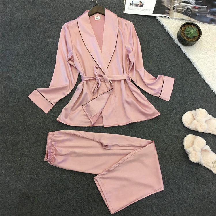 Voplidia Robe Sexy Bademantel Frauen 2017 Pyjama Set New Sommer Spitze Nachthemd Set Nachtwäsche Pyjamas Pijama Feminino Pyjama VOP006