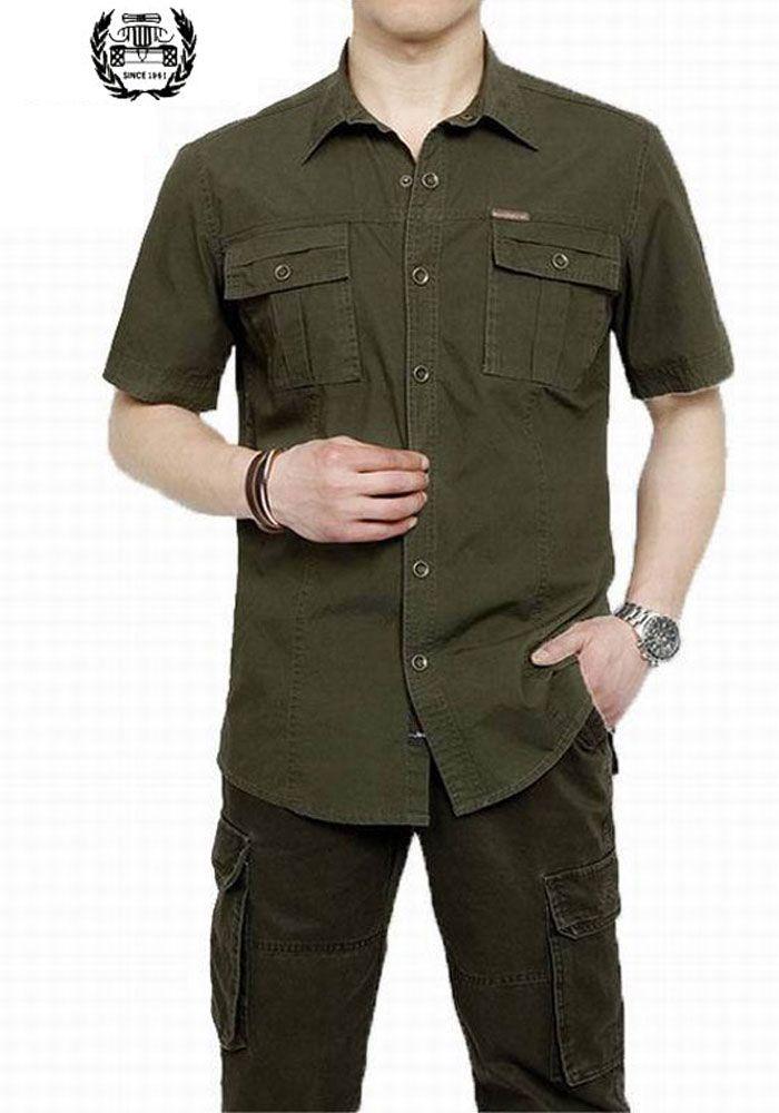 Grande taille XXXXXL été hommes 100% coton chemises couleur unie robe à manches courtes chemises décontracté meilleur vente homme marque vêtements 5003