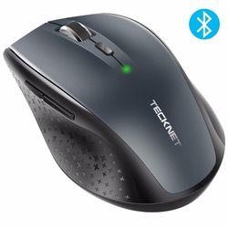 TeckNet Bluetooth Drahtlose Maus 2,4g 2600/2000/1600/1200/800 dpi Für Laptop Notebook PC computer