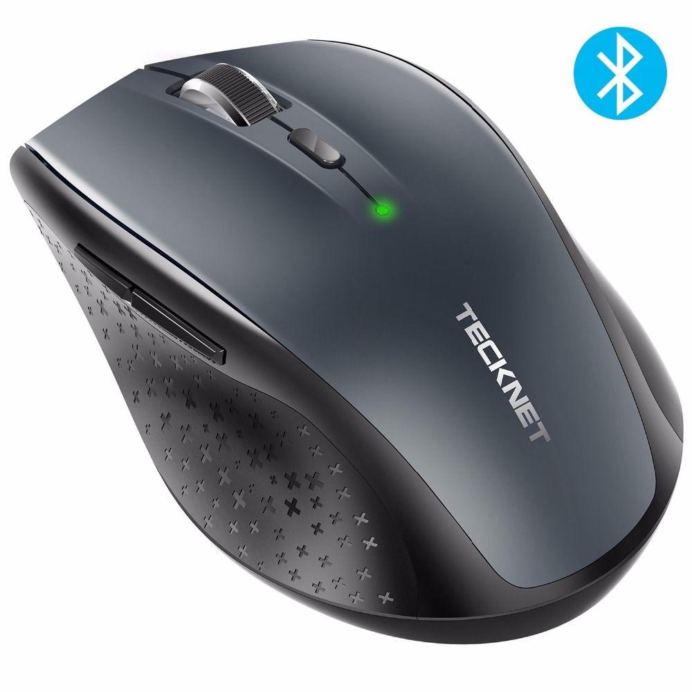 TeckNet Bluetooth Wireless Mouse 2.4g 2600/2000/1600/1200/800 DPI For Laptop <font><b>Notebook</b></font> PC Computer