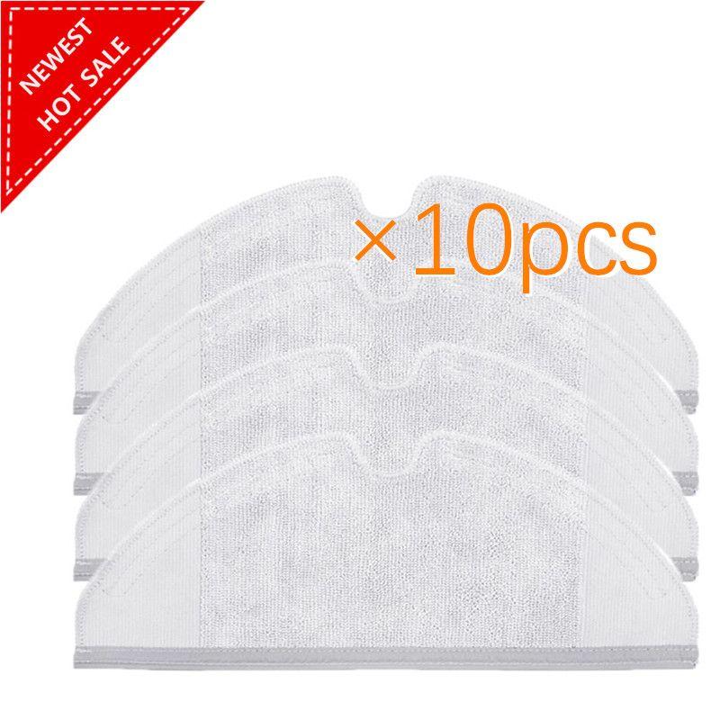 10 pcs/lot Vadrouille Chiffons Tapis Lavable Tissu Essuyant Pad pour Xiaomi Génération 2 Roborock Aspirateur Pièces De Rechange