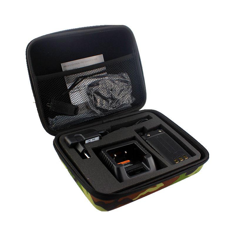 Talkie-walkie étui Carring sac à main de stockage pour BAOFENG UV-5R/5RE Plus chape deux voies Radio lancement sac de chasse Camouflage Radio