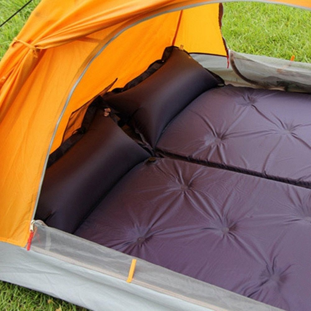 Automatic Inflatable pad Cushion Outdoor Tents, Sleeping Bags and Mats Cushion Widened Thickened Single Camping can be Spliced