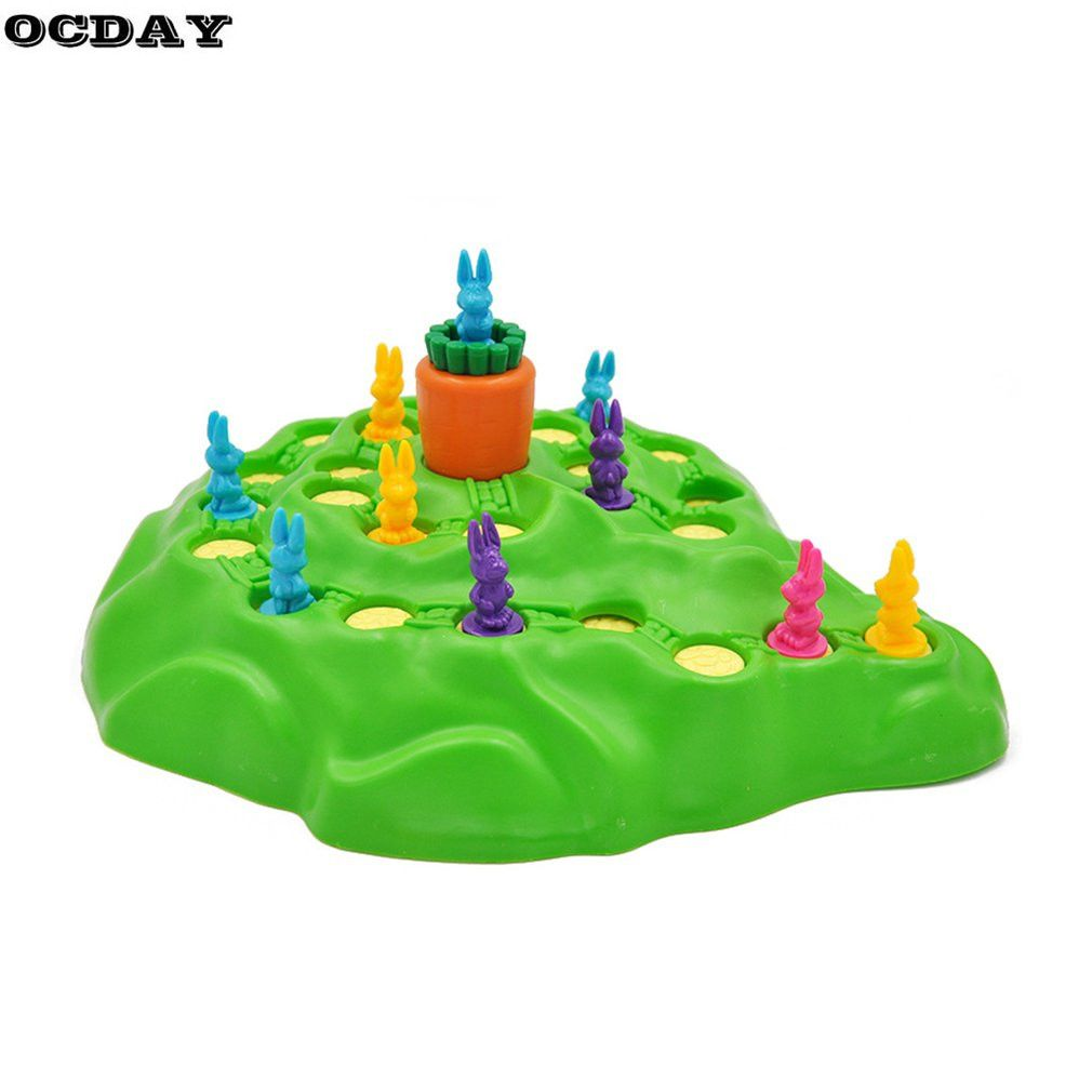 Забавный кролик Конкурентные игры игрушки кролика кросс родитель-ребенок взаимодействия настольные игры приключения кроликов подарок