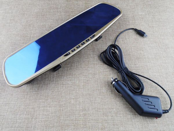 Universal 1080P Dash Cam car Blackbox DVR Video Recorder Camera Rearview Mirror