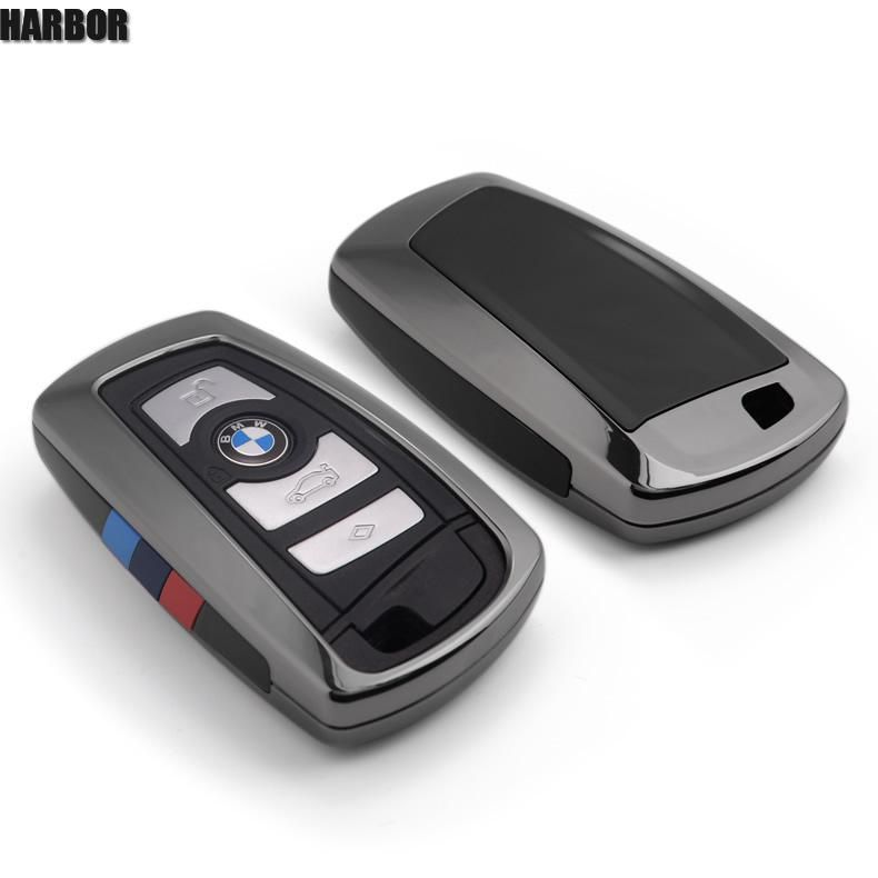 Harbor Car Key Case For BMW F30 F20 X1 X3 X5 X6 X7 F20 E34 E90 E60 E36 Smart-2/3button Refit key pack Key Cover Shell