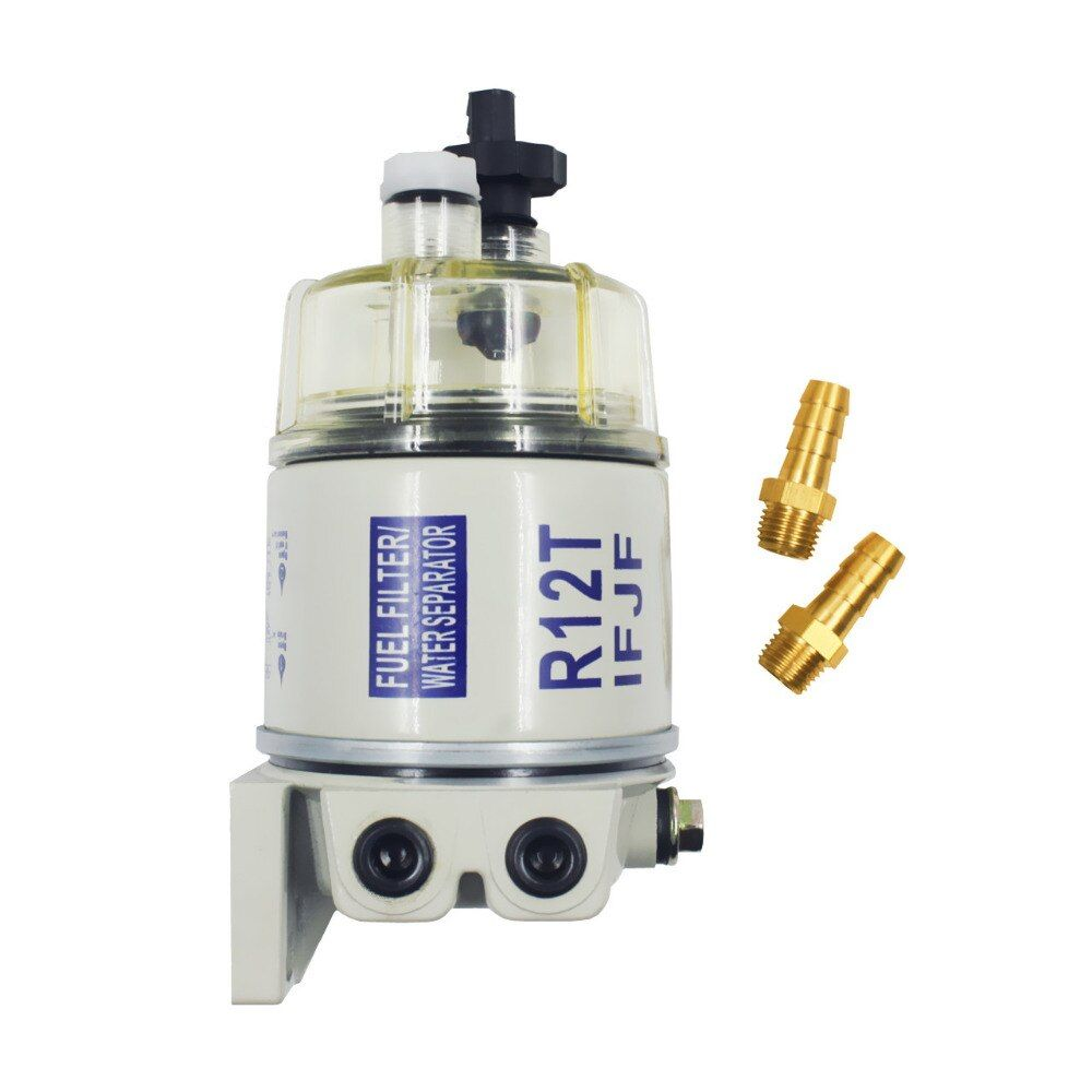 R12T Fuel/ Water Separator Filter diesel engine for Racor 140R 120AT S3240 NPT ZG1/4-19 Automotive Parts Complete Combo Filter