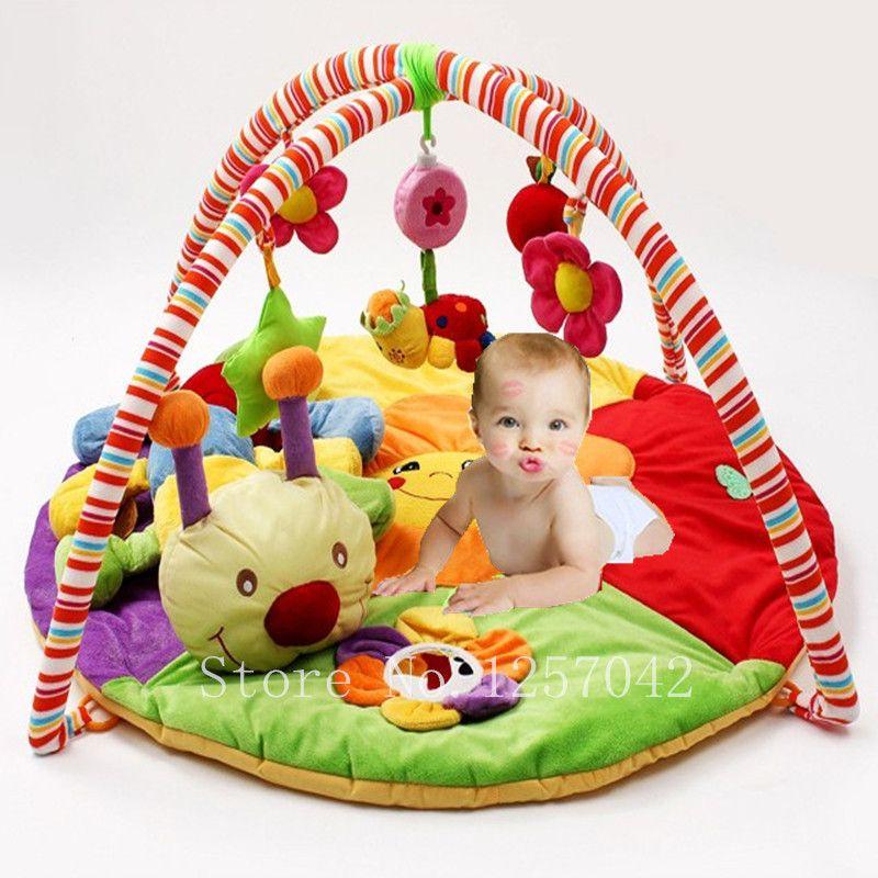 Coloré Bébé Tapis de Jeu de Musique tapis de Jeux Avec Jouets Enfants Jouent Tapis Enfants Tapis Ramper Tapete Jouets Éducatifs