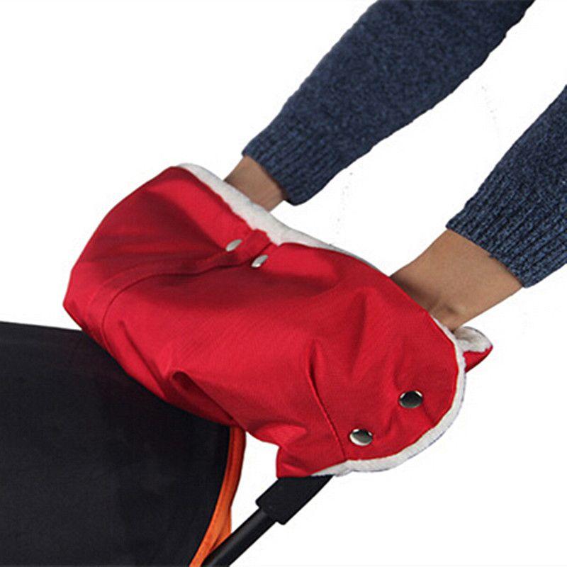 Коляска теплые Прихватки для мангала коляска муфтой Водонепроницаемый коляска аксессуары перчатки Детские коляски сцепления корзину муфт...