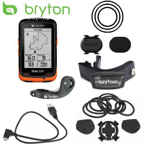 Bryton Reiter 530 GPS Fahrrad Fahrrad Radfahren Computer & Erweiterung Mount ANT + Speed Cadence Dual Sensor Heart Rate Monitor