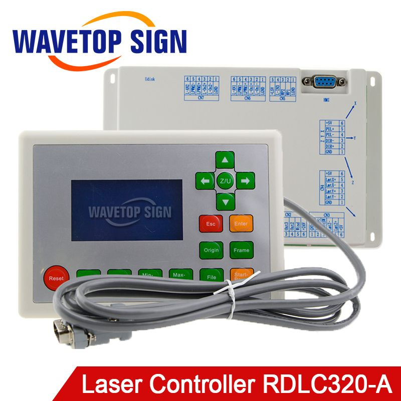 Ruida RD RDLC320-A Co2 Laser DSP Controllerr RD320A Co2 Laser Controller use for Laser Engraving and Cutting Machine