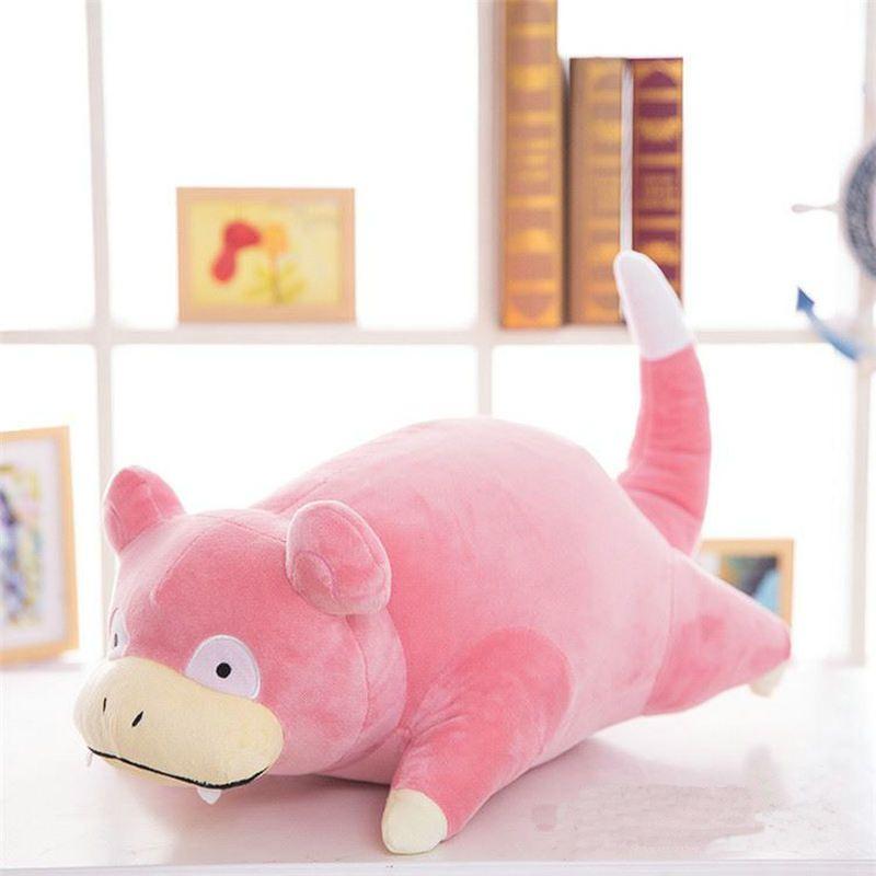 30-50 cm Slowpoke Felpa Almohada juguetes para los niños Regalo de la felpa de Kawaii Lindo de Dibujos Animados Monster Pocket Juguetes de Anime