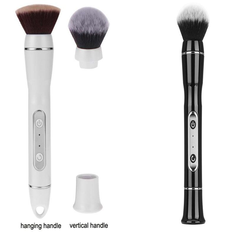 hot Electric Make Up Brushes Portable Electric Makeup Brush Set USB 360 Degree Rotating Foundation Powder Blush Cosmetic Tool