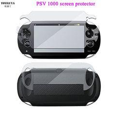 Front + Back HD Clear película protectora de pantalla Protector de superficie para Psvita PS Vita PSV 1000 Protector de pantalla LCD