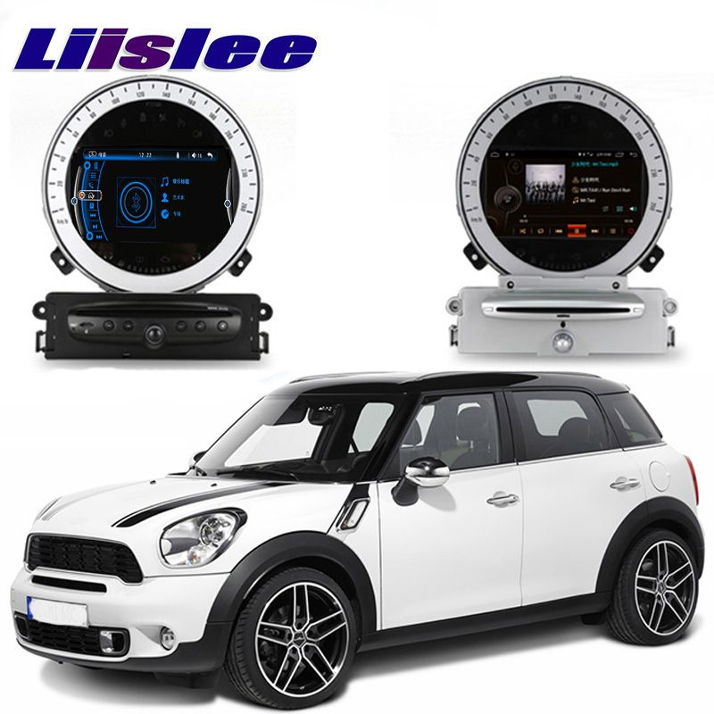 Liislee Auto Multimedia Player NAVI Für Mini Countryman One Cooper S D R60 2010 ~ 2016 Auto Radio Stereo GPS Navigation CE System
