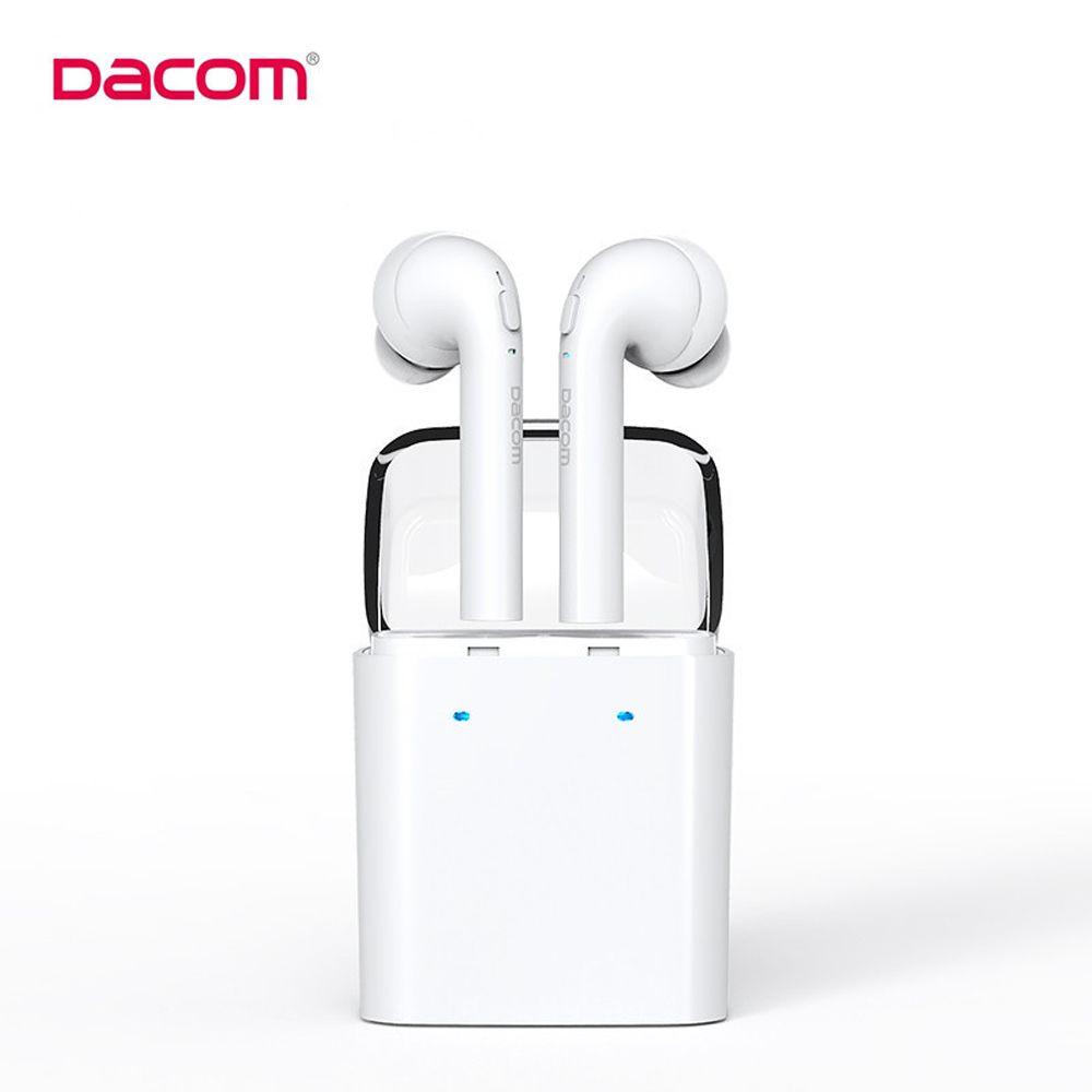 D'origine Dacom MINI Vrai Sans Fil Bluetooth Écouteur Pour l'iphone 7 7 s Double Jumeaux Bluetooth Casque avec la Boîte de Détail