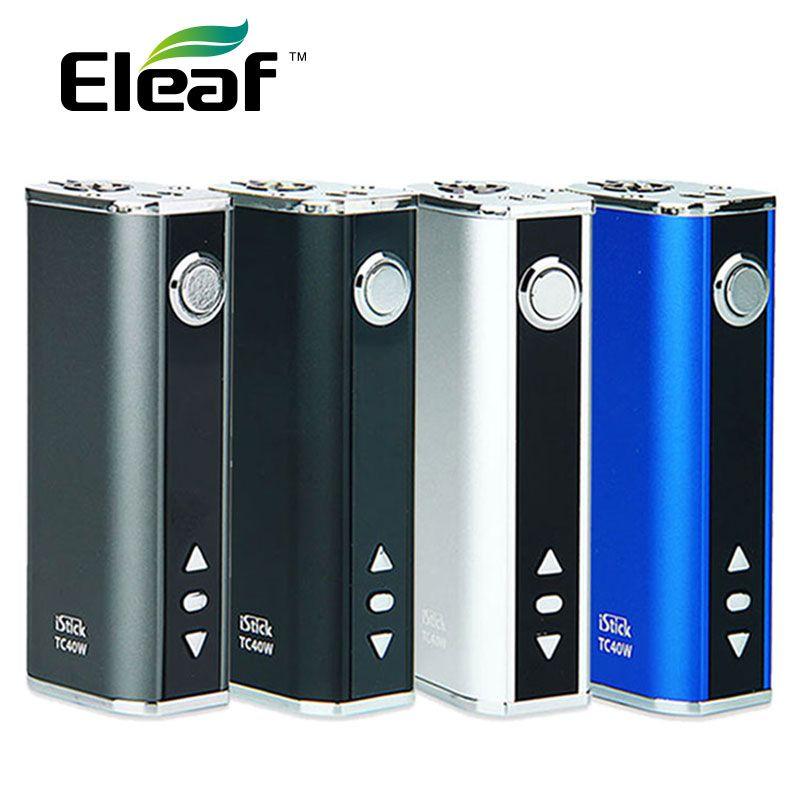Original 40W Eleaf IStick TC Express Kit with Built-In 2600mAh Battery & OLED Screen Max 40W Output Huge Power E-cig Vape Mod