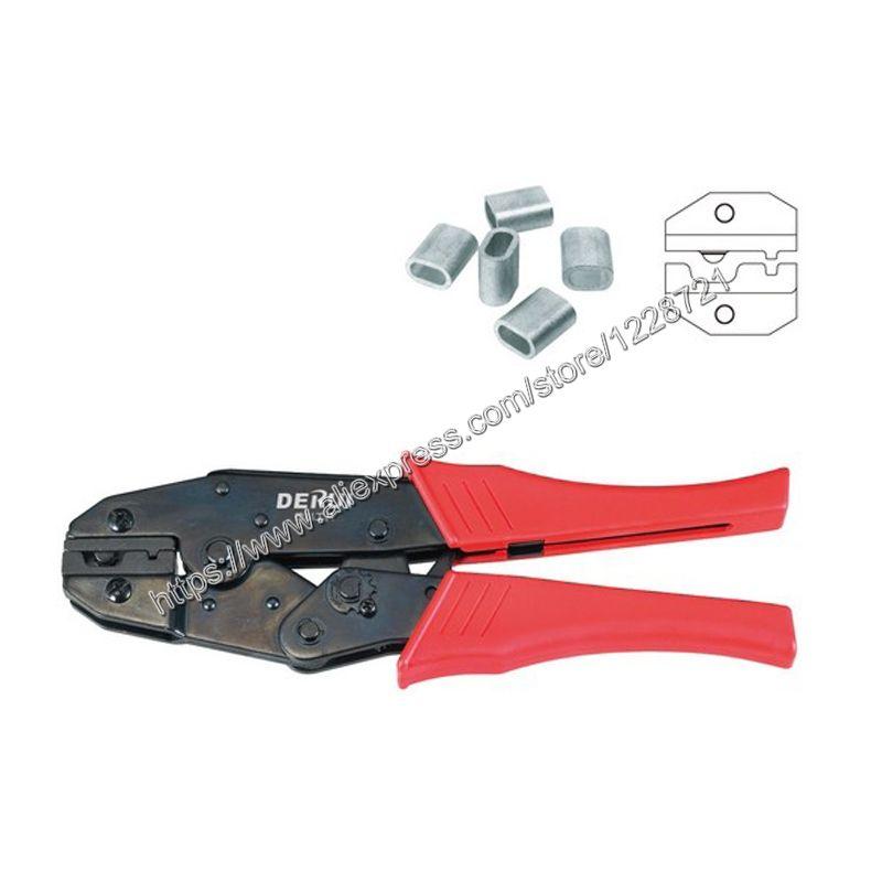 HS-12  strength-saving mini-type terminal  CRIMPING PLIER  6-8-10mm2 AWG 10-8