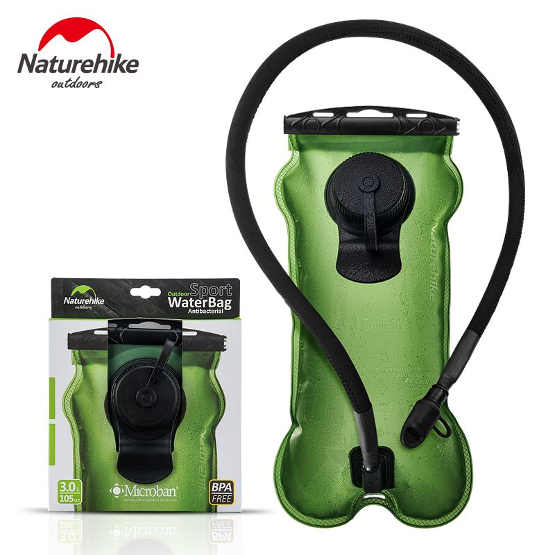 Naturehike Factory Store 3L outdoor sport Antibacterial water bag Hydration Bicycle Camping Hiking antimicrobian Water Bag
