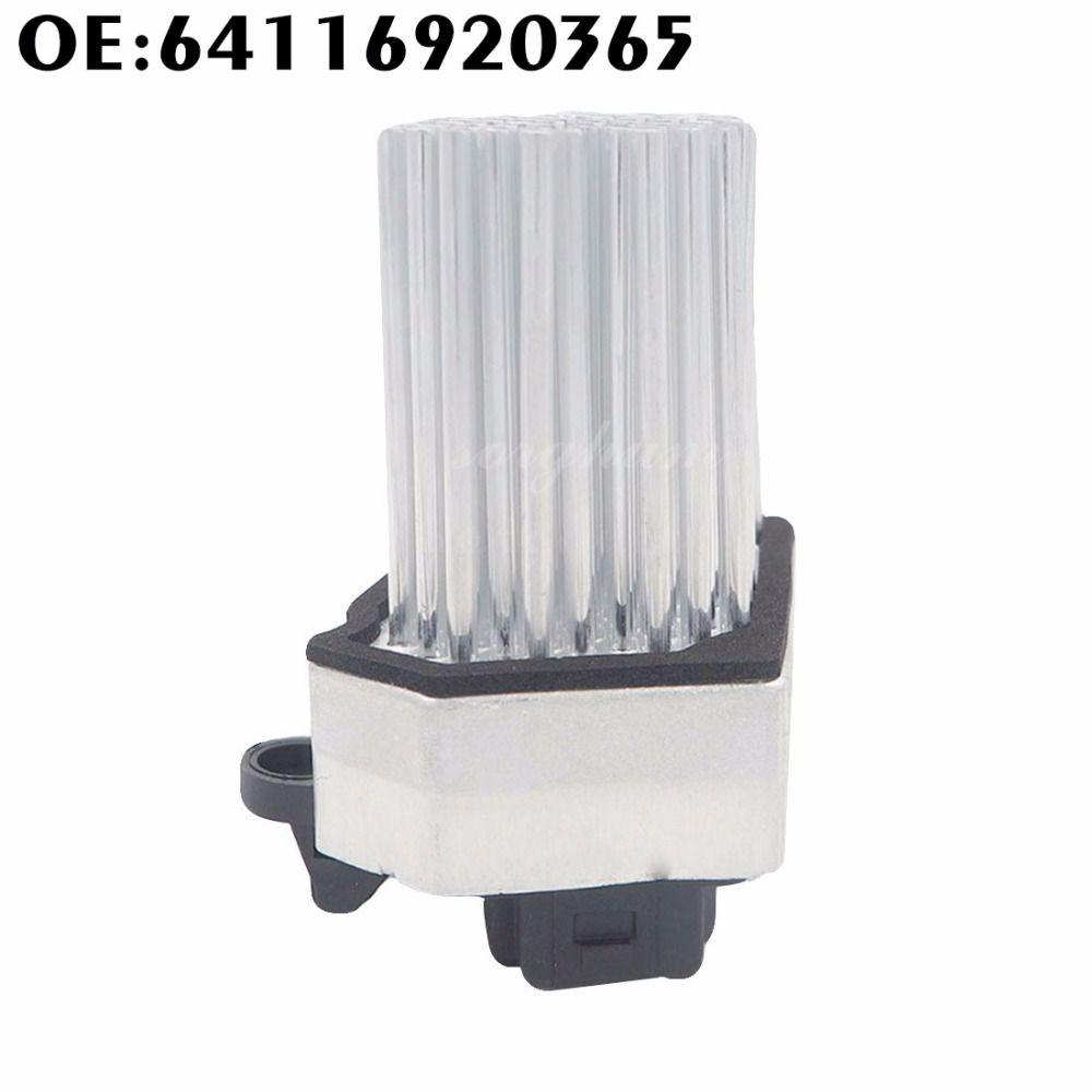 New Blower Motor Resistor AC Heater Fan for BMW E39 E53 E83 E46 E36 325 328 M3 64116920365 64116931680 64118380580 64116929540