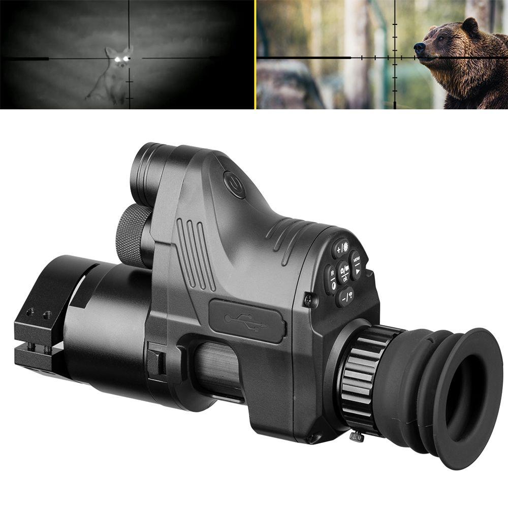 PARD NV007 Jagd Digitale Nachtsicht Umfang Kameras 5w DIY IR Infrarot Nachtsicht Zielfernrohr 200M Palette Nacht gewehr Optische