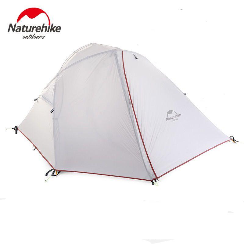 Naturehike Wind-Flügel 1-2 Personen Zelt Wandern Camping Zelt Ultraleicht 20D/210 T Stoff NH16S012-S